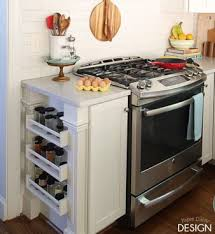 ikea kitchen storage ideas easy built in spice rack bekvam ikea hack hometalk