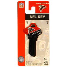 Atlanta Falcons Home Decor by Shop Fanatix 68 Nfl Atlanta Falcons Key Blank At Lowes Com