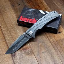 groomsmen knife kershaw manifold folding knife personalized groomsmen gift