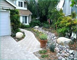 Rock Backyard Landscaping Ideas River Rock Backyard Landscaping Rocks After Backyard River Rock