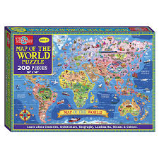 thanksgiving point gardens map amazon com t s shure map of the world jigsaw puzzle 200 piece