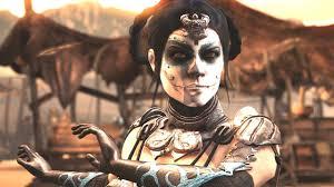 Dia De Los Muertos Costumes Mortal Kombat Xl Kitana Day Of The Dead Dia De Los Muertos