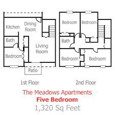 apartment floor plans with dimensions floor plans pricing the meadows apartments