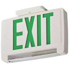 lithonia lighting home depot lithonia lighting thermoplastic led integrated emergency exit sign