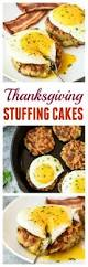 stuffed thanksgiving belly cheesy breakfast stuffing cakes morning starts pinterest