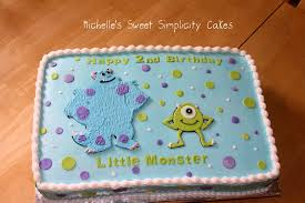monsters inc baby shower cake monsters inc 294 cakes cakesdecor