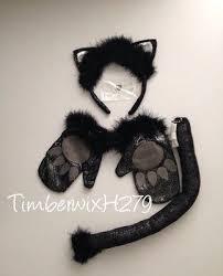 Black Kitty Halloween Costume 61 Halloween Cat Costume Images Makeup