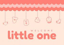 baby shower card templates canva
