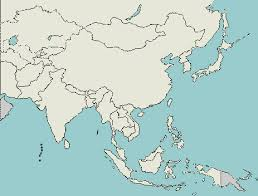 asia map with labels customize a geography quiz asia capital cities lizard point