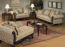 victorian style living room set chaise lounge loveseat settee sofa