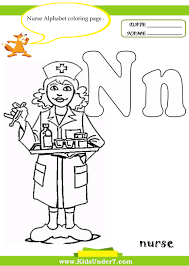 kids under 7 letter n worksheets and coloring pages