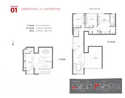 Midtown Residences Floor Plan by The Crimson Residences Miami Condos For Sale And Rent Bogatov