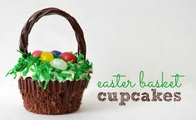 easter basket easter basket cupcakes a owl