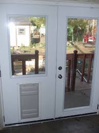 Extra Security Locks For French Doors - patio french back doors with internal mini blinds and pet doggy