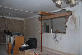 ouverture salon cuisine la maison qu est à nous chantier 1 salon cuisine chauffage