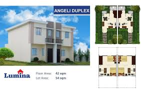 Duplex Floor Plan by Angeli Duplex P5 567 Monthly U2013 Housing Loan Ph