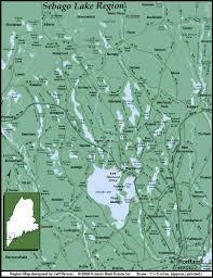 Lake Pleasant Map Road Map Of Sebago Lake Region Sebago Lake Region Maine