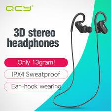 aliexpress qcy qcy qy31 bluetooth headphones wireless ipx4 sweatproof headphones