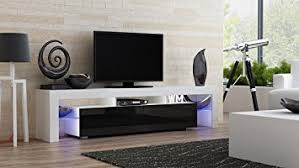 Modern Cabinet Living Room by Amazon Com Tv Stand Milano 200 Modern Led Tv Cabinet Living