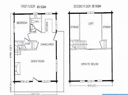 cabin floor plans loft small one bedroom house plans loft lovely turner falls cabins for