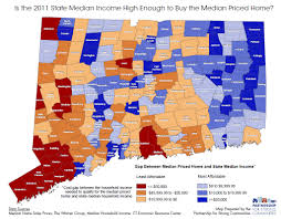 Map Of Ct Towns 2012 November State Of Disparity