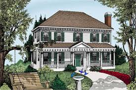 colonial style house plans colonial southern country house plans home design ddi101 206