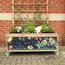 Buy Planters by Buy Instant Garden Planters With Castors Tts