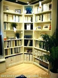 Corner Bookcase Plans Free Inside Corner Bookcase Bothrametals