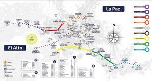 Cable Car Map Sa Expeditions Mi Teleférico La Paz U0027s Brilliant Urban Cable Car