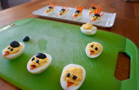 appetizer for thanksgiving day turkey deviled eggs flavor finds
