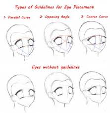 how to sketch anime eyes step by step drawing sheets added by