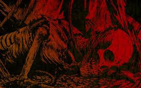 widescreen fantasy scary dark creepy halloween artwork spooky