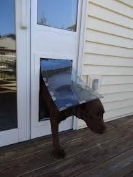 Dog Patio Maxseal Patio Pet Door Insert Dual Pane Glass Dual Flap