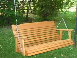 cedar patio furniture vancouver bc 4 stained swing 1 u2013 amasso