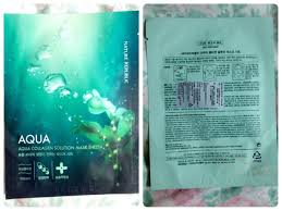 Masker Nr review nature republic aqua collagen solution mask sheet asian