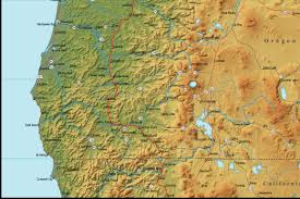 Lakeview Oregon Map by Oregon Map