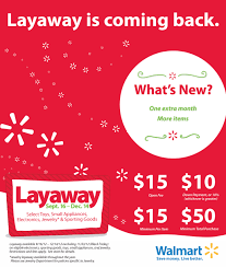 layaway is back and better at walmart