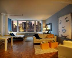 Ideas To Decorate Home Charming Ideas On Decorating A Studio Apartment With Elegant