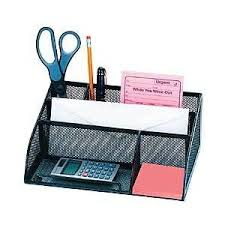 Mesh Desk Organizer Office Depot Metro Mesh Angled Desk Organizer Black By Offic