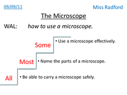 1 1 the microscope year 7 by hannahradford teaching resources