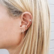 earrings all the way up new year new piercings shop 2017 s earring trend wear