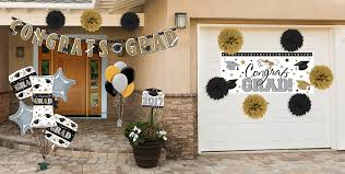 Backyard Graduation Party by Outdoor Graduation Decorations Party City