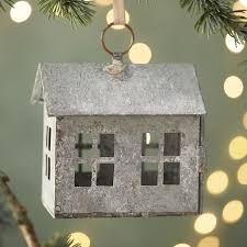 zinc farm house ornament terrain
