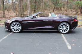 aston martin vanquish red 2014 aston martin vanquish volante stock 4k00981 for sale near