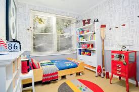 Red And Blue Boys Bedroom - 25 cool kids u0027 bedrooms that charm with gorgeous gray