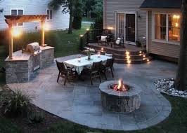 stone patio a classic outdoor living solution stone patios for many homes a