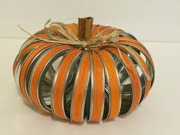 Mason Jars Halloween by Fall Pumpkin Decor Pumpkin Canning Lid Chic Fall Decor
