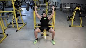 watchfit incline bench press