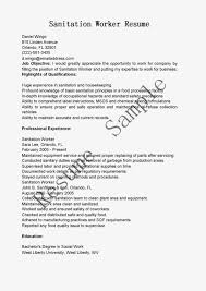 Cover Letter For Resumes Sample Sanitation Worker Cover Letter Resume Cv Cover Letter Cover