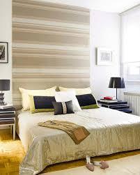 chambre avec papier peint les papiers peints en tant que d coration chambre cr ative design